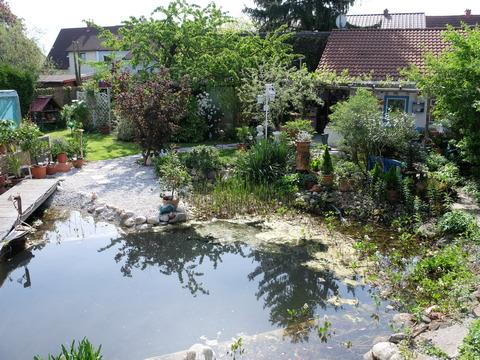 Unser Garten in Wels